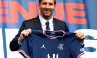 巴黎卖梅西球衣1天赚近3000万欧  梅西的30号队服!